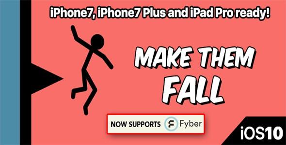 Make Them Fall – One Hour Reskin, IOS 10, Swift 3 Ready
