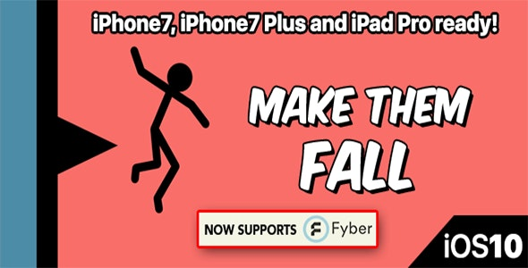 Make Them Fall – One Hour Reskin, IOS 10, Swift 3 Ready - CodeCanyon Item for Sale