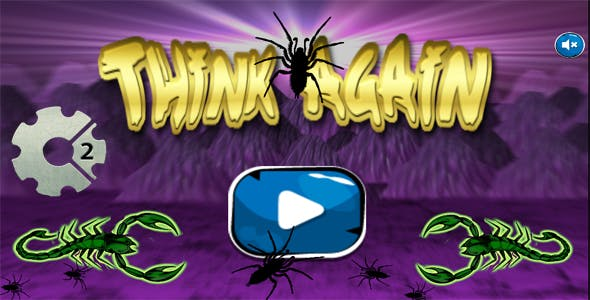 THINK AGAIN [RPG-PUZZLE] (HTML5,Android,IOS)(CAPX)