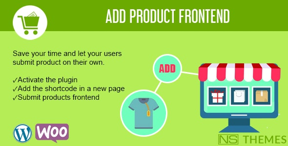 Add product frontend for WooCommerce - CodeCanyon Item for Sale