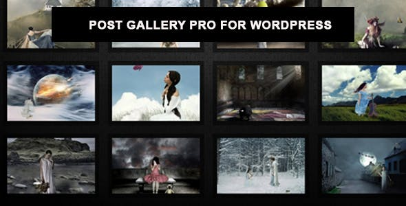 Post Gallery Pro For WordPress