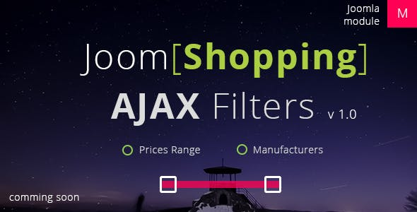 JoomShopping Ajax Filters