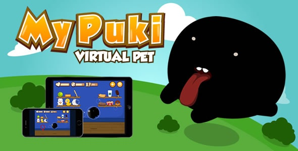 My Puki (Virtual Pet) - HTML5 Game - CodeCanyon Item for Sale