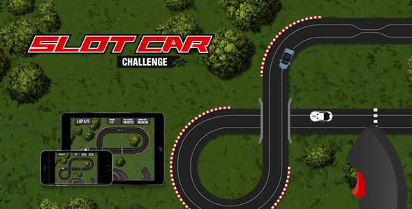 Slot Car Challenge - HTML5 Game