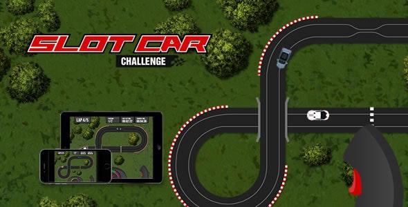 Slot Car Challenge - HTML5 Game - CodeCanyon Item for Sale