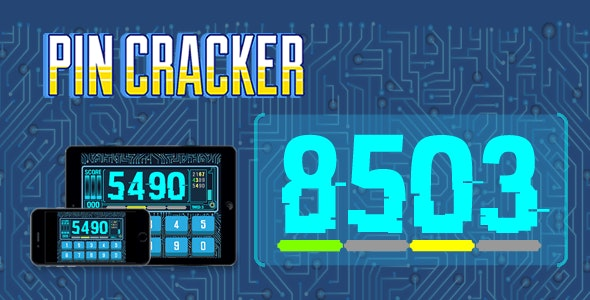 PIN Cracker - HTML5 Game - CodeCanyon Item for Sale