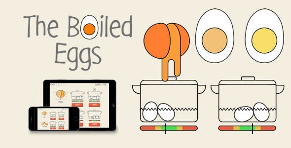 The Boiled Eggs - HTML5 Game