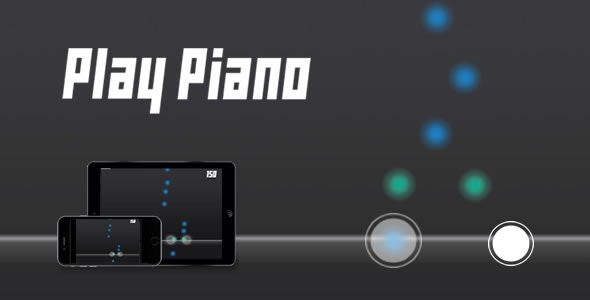 Play Piano - HTML5 Game - CodeCanyon Item for Sale
