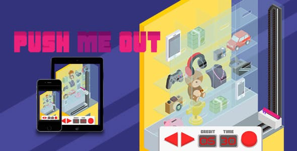 Push Me Out - HTML5 Game