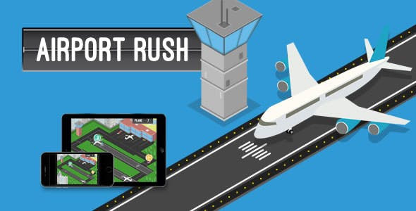 Airport Rush - HTML5 Game