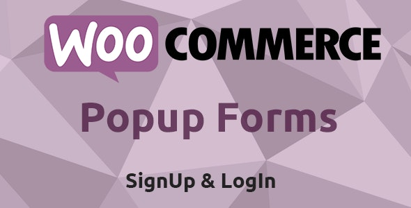 WooCommerce Popup Signup & Login Forms - CodeCanyon Item for Sale