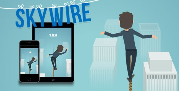 Skywire - HTML5 Game - CodeCanyon Item for Sale