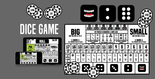 Dice Game - HTML5 Game - CodeCanyon Item for Sale