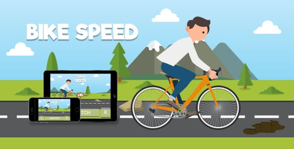Bike Speed - HTML5 Game - CodeCanyon Item for Sale