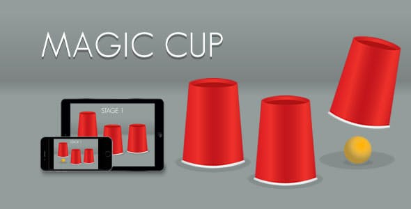 Magic Cup - HTML5 Game