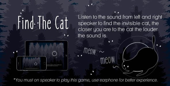Find The Cat - HTML5 Game