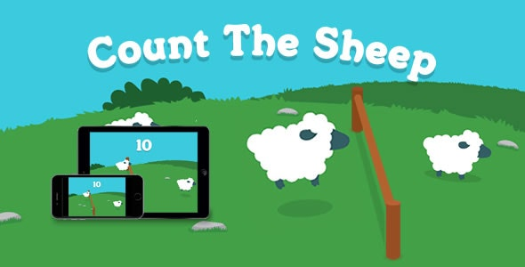 Count the Sheep - HTML5 Game - CodeCanyon Item for Sale