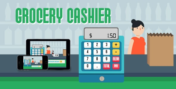 Grocery Cashier - HTML5 Game - CodeCanyon Item for Sale