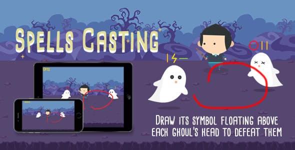 Spells Casting - HTML5 Game