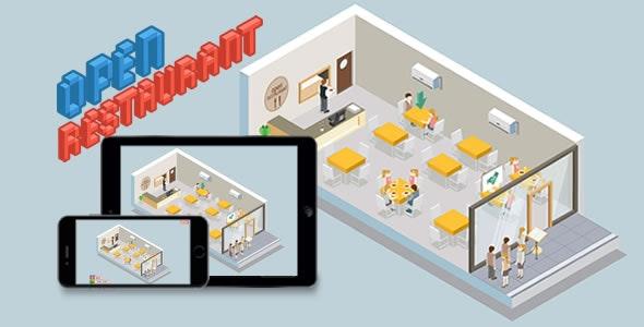 Open Restaurant – HTML5 Game