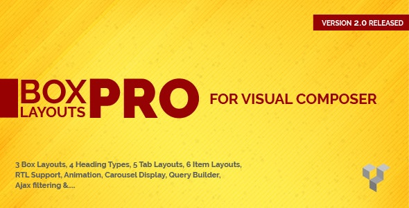 Pro Box Layout for WPBakery Page Builder : Displaying Post & Custom Post in a News & Magazine Style - CodeCanyon Item for Sale