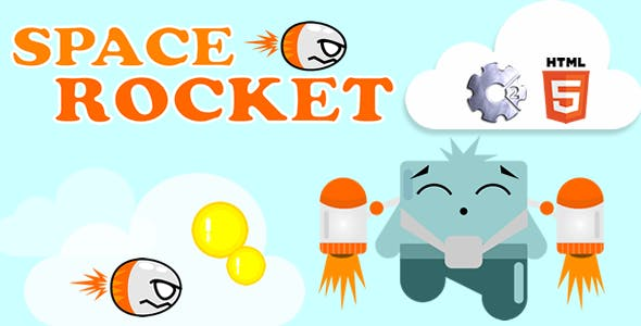 Space Rocket - HTML5 Game (CAPX)
