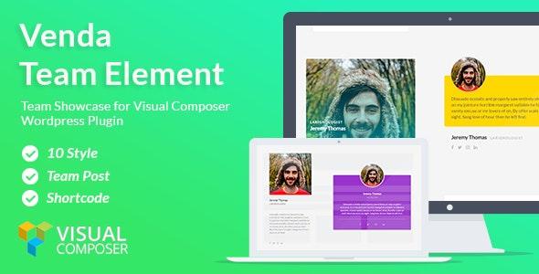 Venda Team – Visual Composer addon