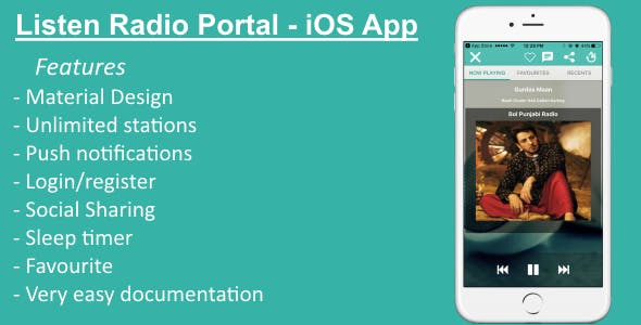 Listen Radio Portal - iOS App