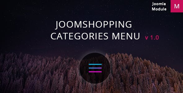 Joomshopping Categories Menu
