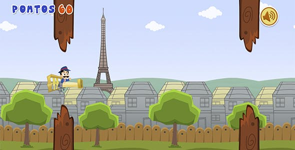 Tappy Dumont - HTML5 Game (Construct 2)
