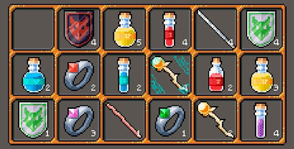 Construct 2/3 Inventory system