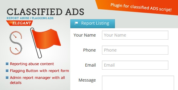 Classified ADS - Report Listing - CodeCanyon Item for Sale