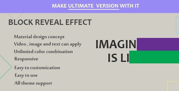 Visual Composer - Block Reveal Effects - CodeCanyon Item for Sale