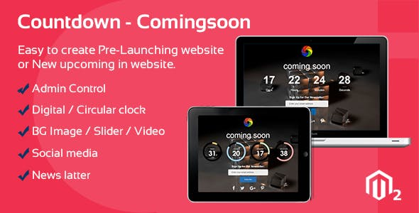 Countdown, Coming Soon & Site Maintenance