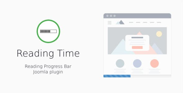 Reading Time — Reading Progress Bar for Joomla