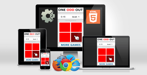 Brain Games - One Odd Out - CodeCanyon Item for Sale