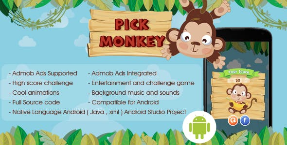 Pickup Monkey Android Admob Ads