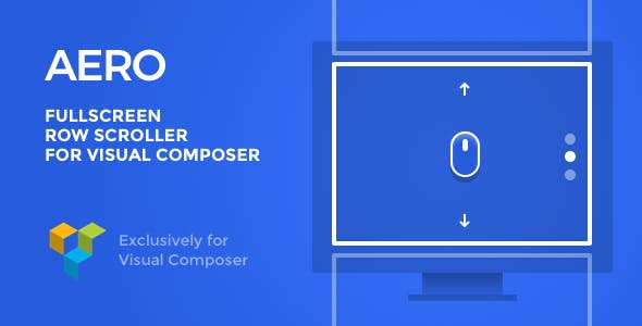 AERO – Fullscreen Scroller for Visual Composer