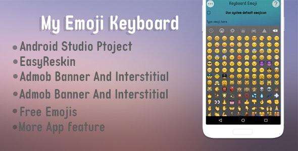My Emoji Keyboard Templates - CodeCanyon Item for Sale