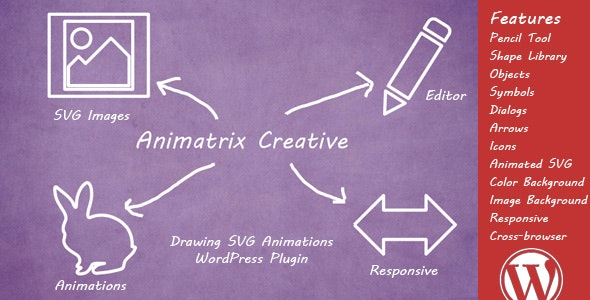 Animatrix Creative - Drawing SVG Animations Plugin - CodeCanyon Item for Sale