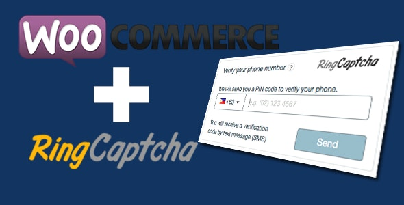 WooCommerce Phone Verification on Checkout & SMS Order Notifications by RingCaptcha - CodeCanyon Item for Sale