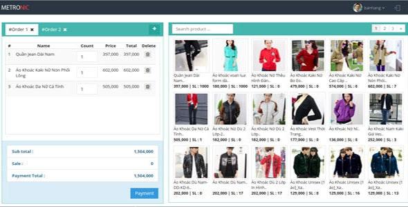 Sales management software ReactJS+Laravel - CodeCanyon Item for Sale