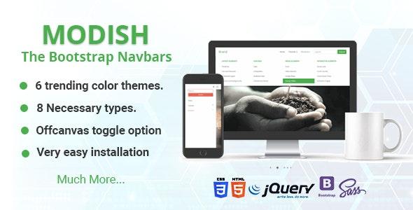 Modish - The Bootstrap Navbars - CodeCanyon Item for Sale