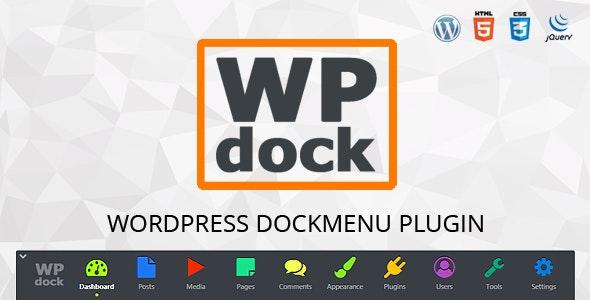 Menu WordPress plugin - Wpdock - CodeCanyon Item for Sale