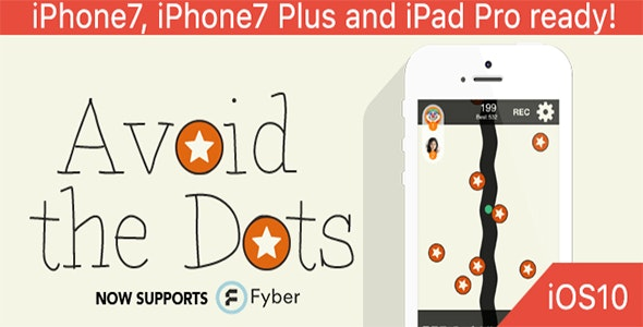 Avoid the Dots – One Hour Reskin, IOS 10, Swift 3 Ready - CodeCanyon Item for Sale