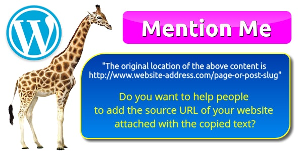"""The original location of the above content is www.example.com"" by Mention Me for WordPress - CodeCanyon Item for Sale"