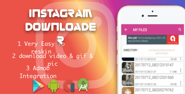 Instagram downloader video and photo