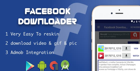 Facebook Downloader Video & Photo & Gif