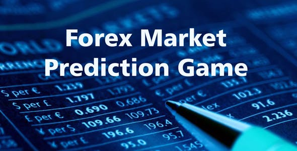Forex Market Prediction Game Widget | JavaScript Plugin