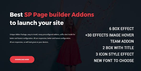 Payoddons - SP Page builder addons